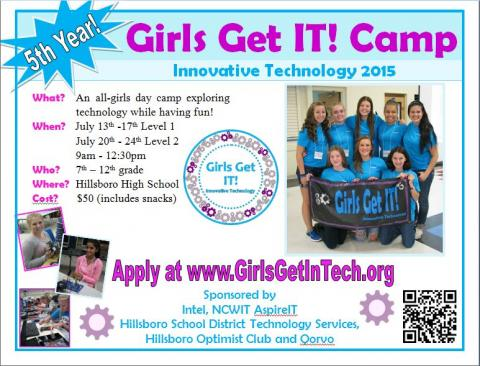 Girls Get IT! 2015 Flyer